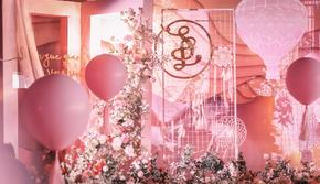 《粉色少女心》-粉色浪漫系-【芊芊婚礼】