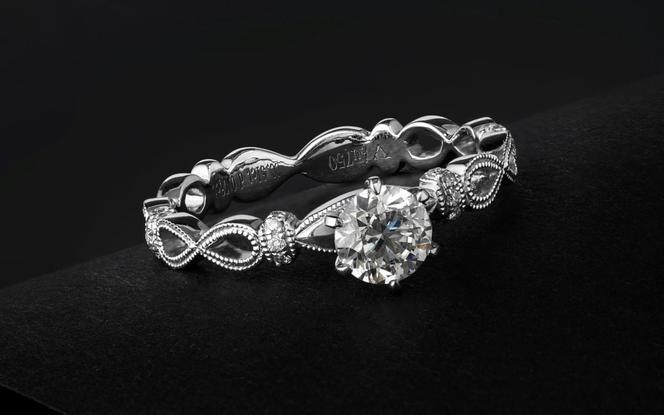 梵尼洛芙-永恒  独立原创设计款求婚结婚钻戒