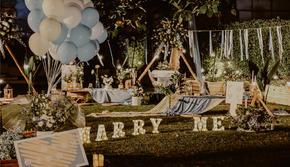 【好百年婚礼】-户外草坪唯美浪漫求婚策划