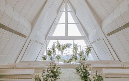 【小而美】海边礼堂婚礼 香水湾君澜礼堂+别墅婚房