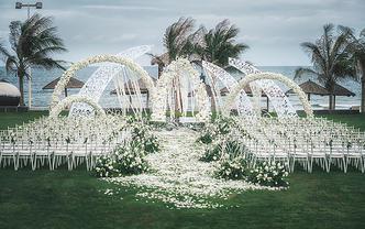 【LLAY埃莱婚礼】三亚婚礼「梦在花开的地方」