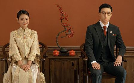 【畅拍成都】中式复古婚纱照+定就送3000元礼包