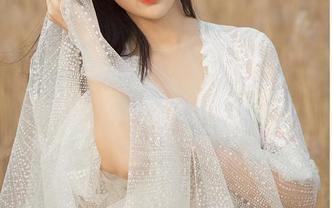【明星同款】一字肩网纱时尚甜美公主轻纱系列