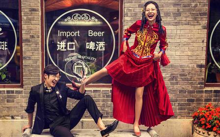 吹爆它@点赞200W+的口碑爆款中式婚纱照