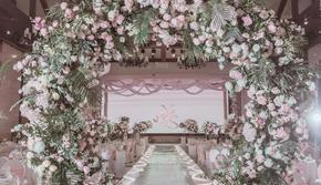 【ADELA爱德拉】预算小于1W的粉色小清新婚礼