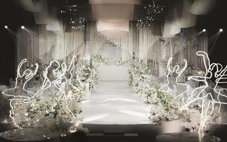 麦瑞婚礼|自带氛围感的纯韩式婚礼