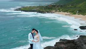不出合肥拍遍全球美景游艇粉红沙滩礁石海岸任选拍