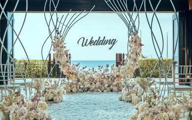海边教堂婚礼 I 复古庄重