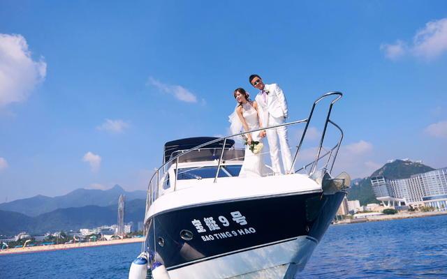 色色婚纱浪漫海景-游艇系列