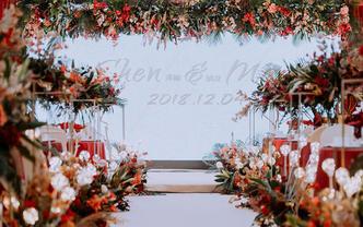 【潮婚节限时特惠】雅琼婚礼|红白清新美式田园风