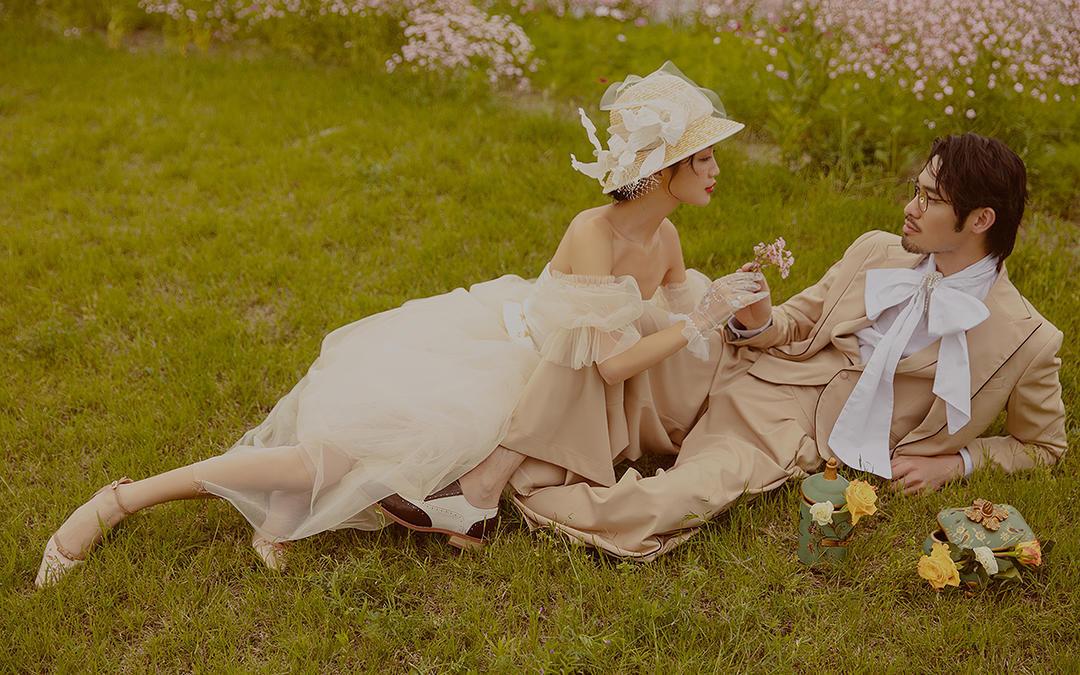 人气婚纱照,森系,级简,海景,古装