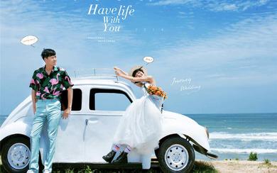 雅典娜婚纱摄影【蓝色爱情海】