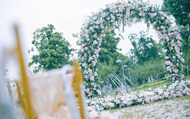 全球岛屿婚礼—三亚  户外草坪