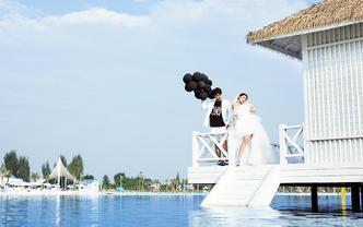 成都也能拍的海景婚照+预约立减2000全程一对一