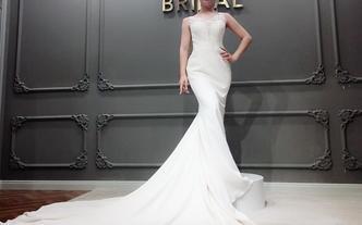 温婉甜美清新完美新娘婚纱造型