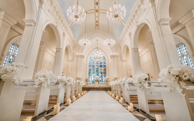 三亚教堂婚礼/纯欧式教堂场地+布置+四大金刚