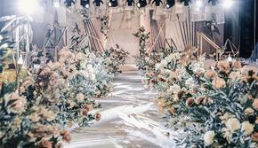 2019年特惠创意香槟色主题婚礼含四大金刚
