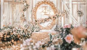 粉色主题婚礼套餐 小公主的喜爱