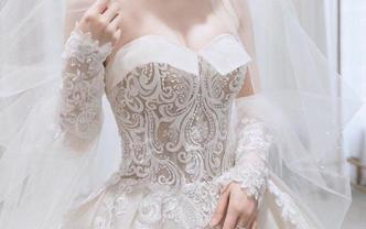 夢幻公主系列拖尾婚紗《超值租賃》可定制款