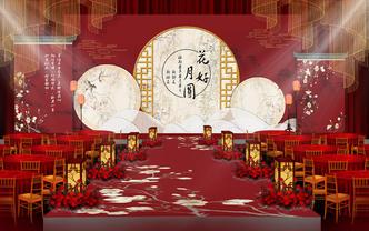 杭州乾塘墨府汉式婚礼大典复原明制大婚「天合之喜」