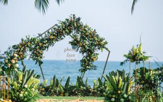 爱情的守望者--20人小型海岛婚礼