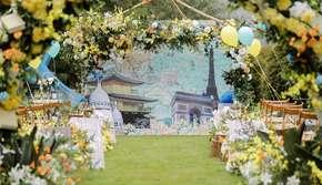 吃住行+婚礼布置+摄影摄像跟妆主持【一站式服务】