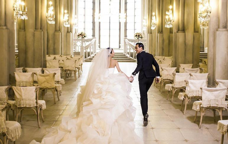 『轻法式复古』主题  婚纱摄影