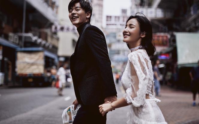 【香港旅拍】街拍+维多利亚港等明星景点任选拍