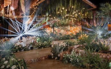 诗缔婚礼宴会设计--一屋两人三餐四季