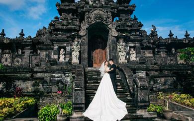 爱旅拍巴厘岛•客照欣赏•黑塔建筑博物馆•邵&陆