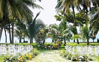 一价全包 三亚草坪婚礼 全海南多家酒店可选