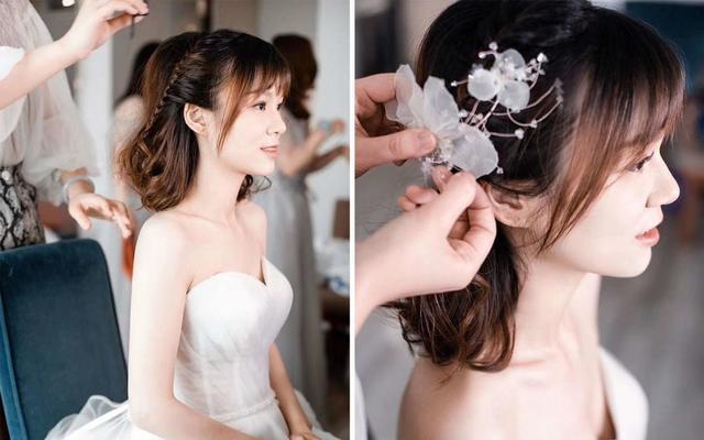 婚礼清新造型纪实片。小仙女