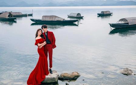 【千岛湖旅拍】婚纱照旅拍婚纱摄影高端定制