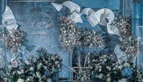 神话婚礼|雾霾蓝|ins风|心光|轻定制
