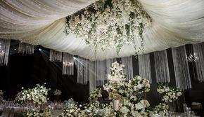 室內婚禮大棚婚禮韓式 香檳色大氣婚禮