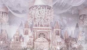 哈尔滨乔思卡品质婚礼策划--紫色城堡系