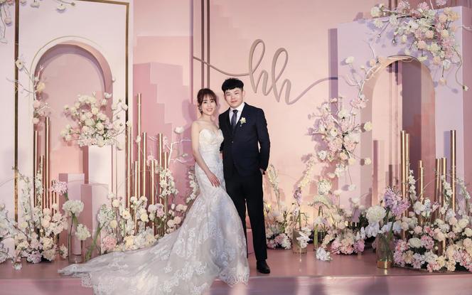 伯妮婚礼 | 简约INS风小公主浪漫粉色婚礼