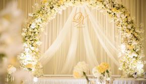 【壹格婚礼】香槟色极简风 婚礼策划