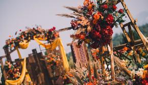 ING WEDDING || 焦糖色婚礼