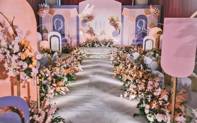 【心递婚礼】紫色西式主题婚礼