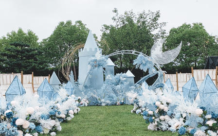超值特价【草坪婚礼仅12000】| 精灵城堡风
