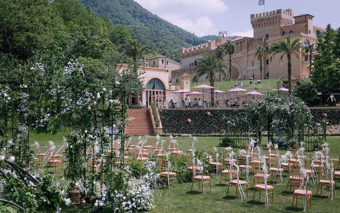 婚礼策划 托斯卡纳城堡婚礼