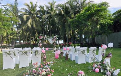 10人内小型浪漫清新婚礼布置