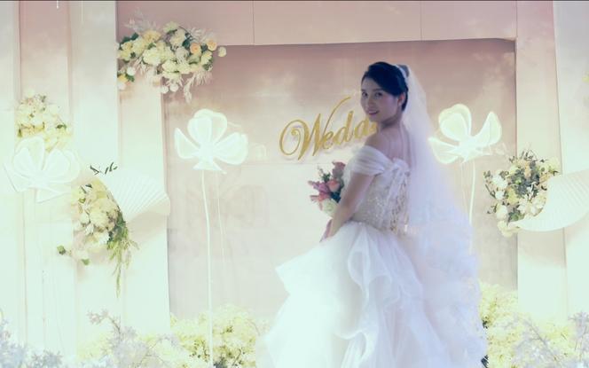 VIP双机婚礼拍摄+电影风格+大摇臂+15s预告