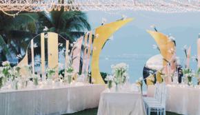 DNA「柏悦酒店」户外婚礼