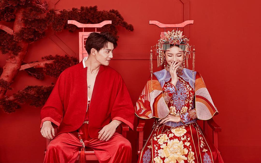 【全新国潮】新中式婚照+内外景通拍