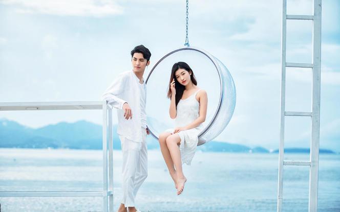 麦田映像婚纱摄影五一提前放价海边特价5999元