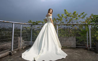 SHINING善美经典婚纱超值套系5件套3880