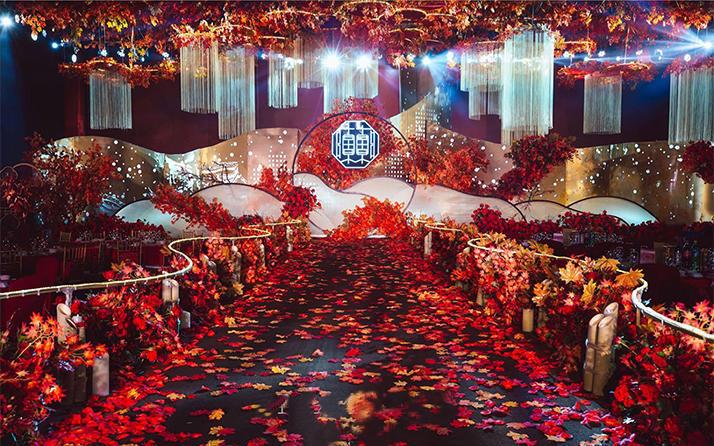 【良辰婚礼】新中式奢华大气婚礼  九月的枫