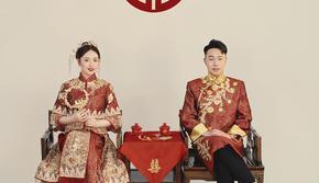 【客照欣赏】这辑中式婚纱与以往不同